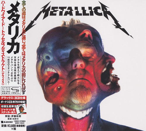 Metallica - Hardwired…To Self-Destruct (3CD Japanese Deluxe Edition) (2016) 320 kbps + Scans
