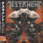 Testament – Brotherhood Of The Snake (2016) (Japanese Edition) 320 kbps + Scans