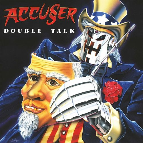Accuser - Double Talk (Remastered, 2016) 320 kbps + Scans