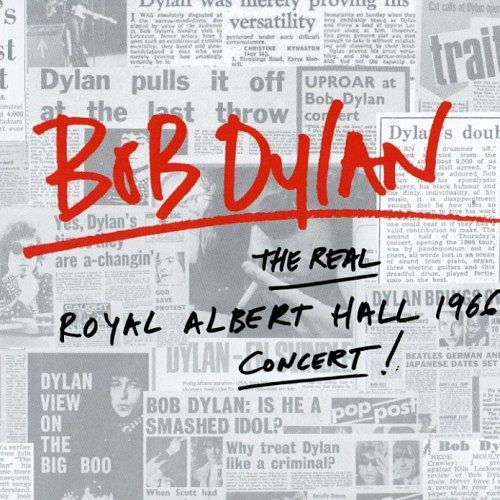Bob Dylan ‎- The Real Royal Albert Hall 1966 Concert! (2016) 320 kbps + Scans