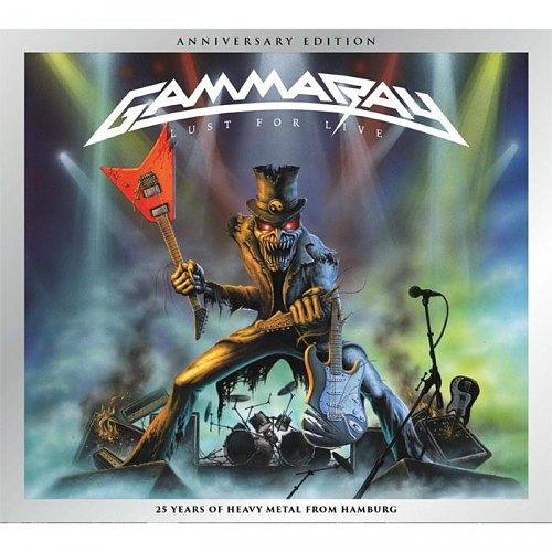Gamma Ray - Lust For Live (Anniversary Edition) (Remastered) (2016) 320 kbps