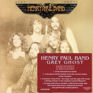 Henry Paul Band - Grey Ghost (Rock Candy Remastered) (2016) 320 kbps