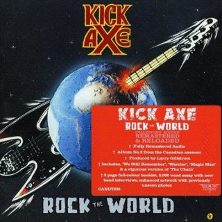 Kick Axe - Rock The World (Rock Candy Remastered) (2016) 320 kbps