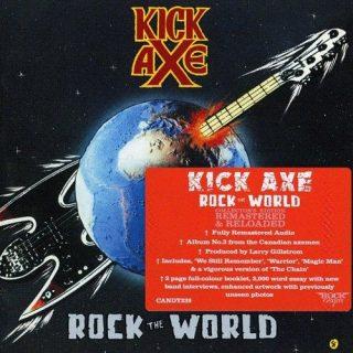 Kick Axe - Rock The World (Rock Candy Remastered) (2016) 320 kbps