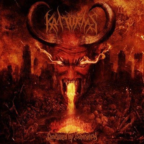 Kratornas - Devoured by Damnation (2016) 320 kbps