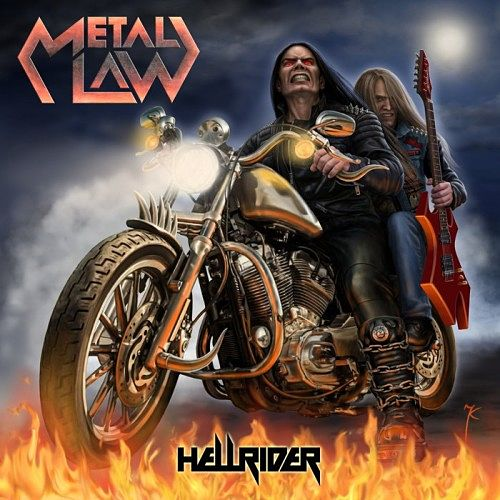Metal Law - Hellrider (2016) 320 kbps