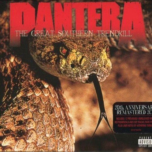 Pantera - The Great Southern Trendkill (20th Anniversary Edition) (2016) 320 kbps + Scans