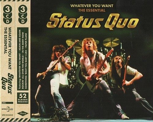 Status Quo - Whatever You Want: The Essential (2016) 320 kbps + Scans