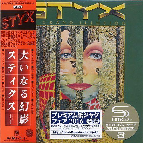 Styx - The Grand Illusion [Japan Mini LP SHM-CD] (2016) 320 kbps + Scans