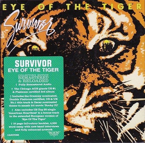 Survivor - Eye Of The Tiger (Reissue,Remastered) (2016) 320 kbps