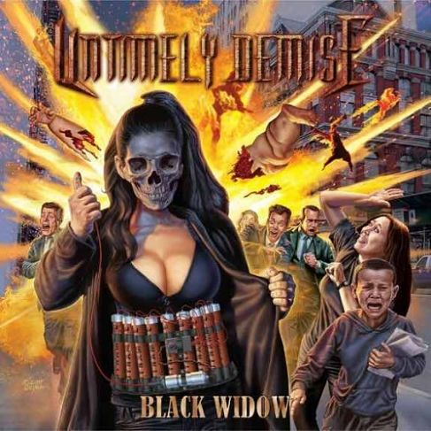 Untimely Demise - Black Widow (2016) 320 kbps