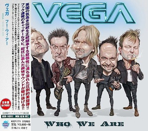 Vega - Who We Are (Japan Edition) (2016) 320 kbps + Scans