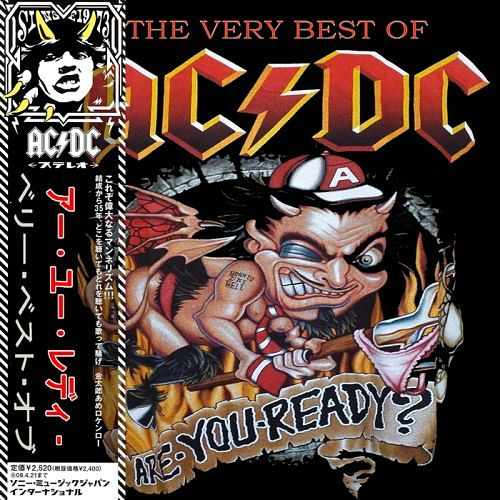 ACDC - Are You Ready The Very Best Of (2CD, 2016) 320 kbps + Scans