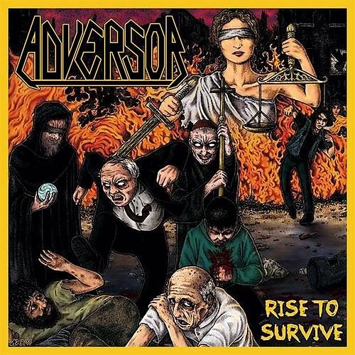 Adversor - Rise To Survive (2016) 320 kbps + Scans