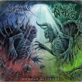 AngelMaker & A Night In Texas - Unholy Alliance [Split] (2016) VBR (Scene CD-Rip)