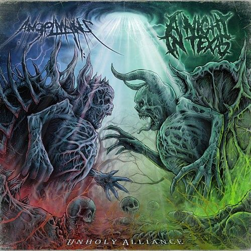 AngelMaker & A Night In Texas - Unholy Alliance [Split] (2016) VBR (Scene CD-Rip)