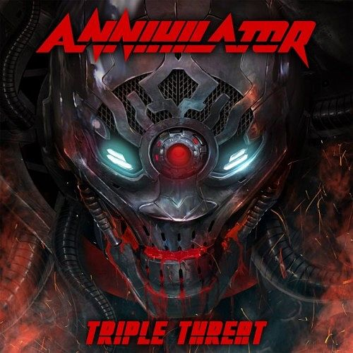 Annihilator - Triple Threat (Live) (2017) 320 kbps