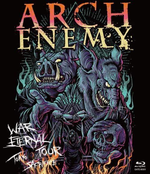 Arch Enemy - War Eternal Tour: Tokyo Sacrifice (Live) (2016) 320 kbps