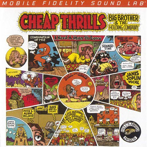 Big Brother & The Holding Company - Cheap Thrills (1968) [2016 MFSL Remaster] 320 kbps