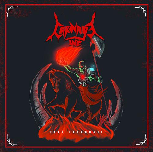 Carnage Inc. - Fury Incarnate [EP] (2016) 320 kbps
