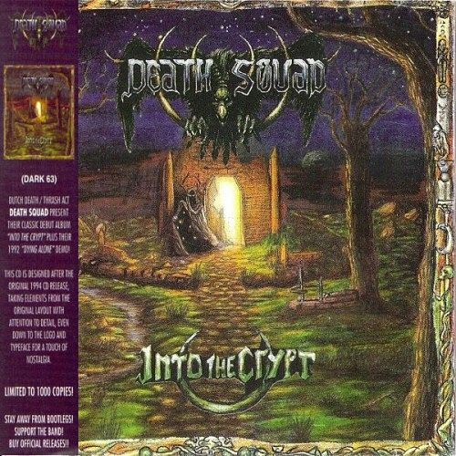 Death Squad - Into The Crypt (Limited Edition, Remastered, Reissue 2016) 320 kbps + Scans
