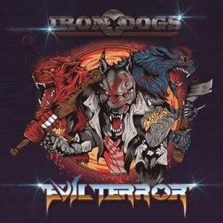 Evilterror - Iron Dogs (2016) 320 kbps + Scans