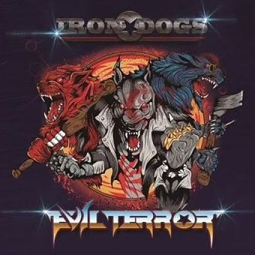 Evilterror - Iron Dogs (2016) 320 kbps + Scans