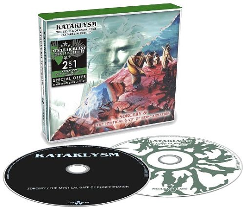 Kataklysm - Sorcery & The Mystical Gate Of Reincarnation + Temple Of Knowledge (2CD, Reissue) (2016) 320 kbsp + Scans