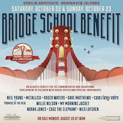 Metallica - The 30th Annual Bridge School Benefit Shoreline Amphitheater, Mountain View