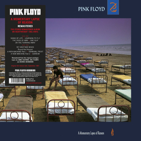 Pink Floyd - A Momentary Lapse Of Reason (1987) [LP Remastered 2017] 320 kbps