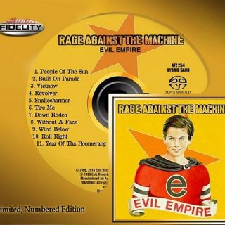 Rage Against The Machine - Evil Empire (1996) [2016 Audio Fidelity Remaster] 320 kbps