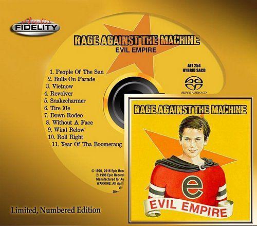 Rage Against The Machine - Evil Empire (1996) [2016 Audio Fidelity Remaster] 320 kbps