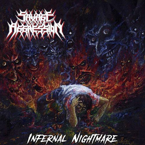 Savage Aggression - Infernal Nightmare (2016) VBR V0 269kbps (scene CD-Rip)