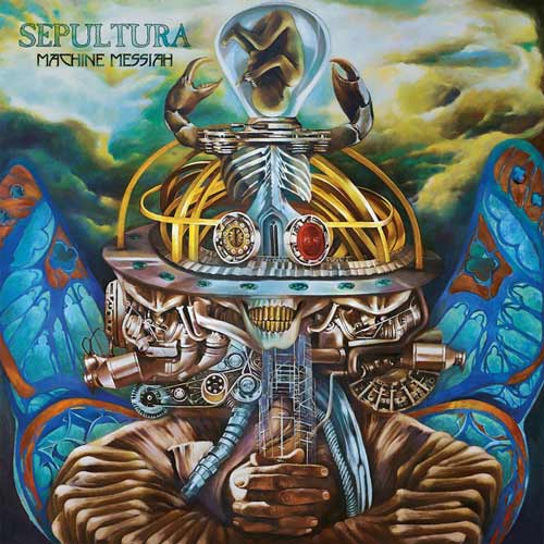 Sepultura - Machine Messiah [Limited Edition] (2017) 320 kbps