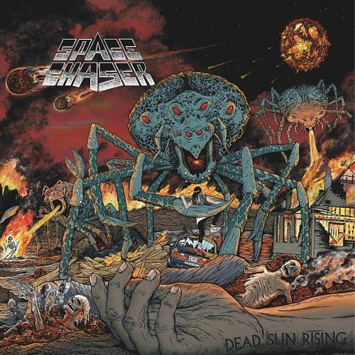 Space Chaser - Dead Sun Rising (2016) 320 kbps + Scans