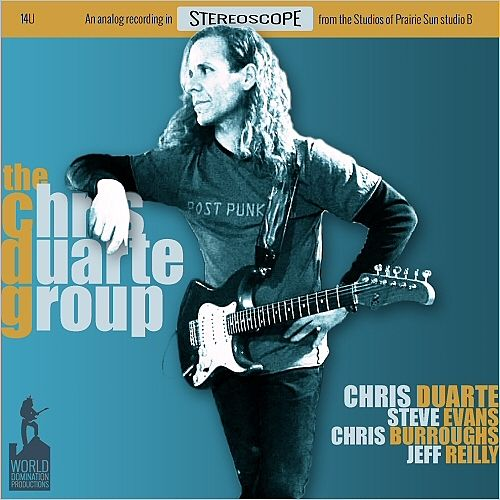 The Chris Duarte Group - The Fan Club (2016) 320 kbps (upconvert)