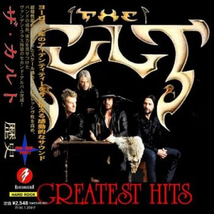 The Cult - Greatest Hits (Compilation) [Japanese Edition] (2016) 320 kbps