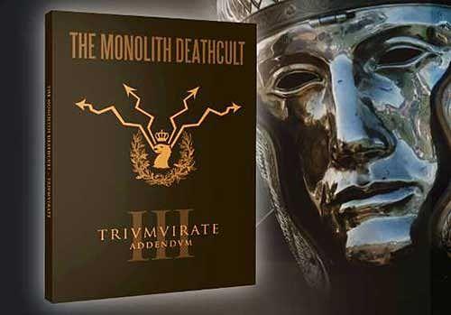 The Monolith Deathcult - Trivmvirate Addendvm (Reissue 2016) 320 kbps + Scans