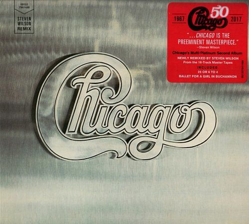 Chicago - Chicago II (Steven Wilson Remix) (1970) [2017, Remastered] 320 kbps