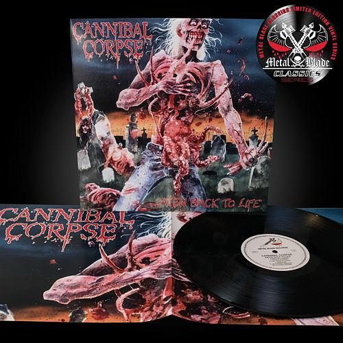 Cannibal Corpse – Eaten Back To Life (2016 Metal Blade Classics Series, LP) 320 kbps