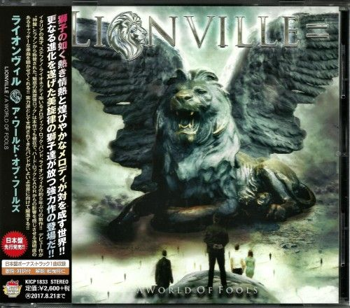 Lionville - A World Of Fools [Japanese Edition] (2017) 320 + Scans