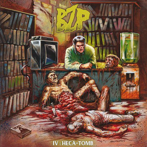 The Black Zombie Procession - IV : Heca-Tomb (EP) (2017) 320 kbps
