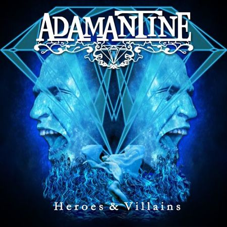 Adamantine - Heroes & Villains (2017) 320 kbps