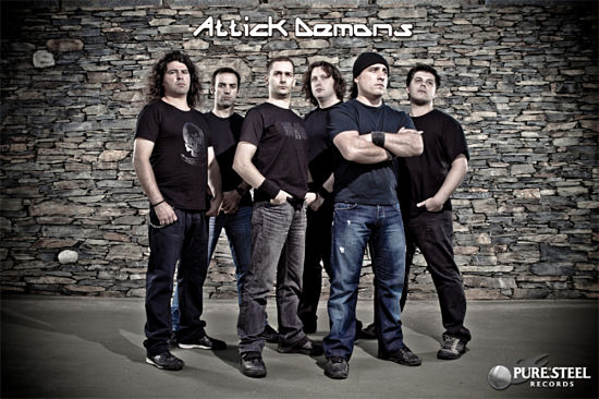 Attick Demons - Discography (2011-2017) [2 Studio Albums] 320 kbps + Scans