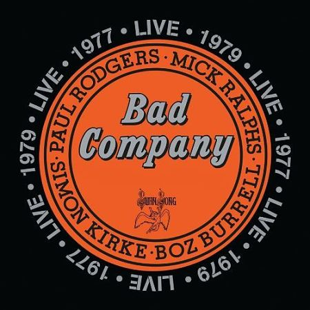 Bad Company - Live 1977 & 1979 [2CD Set] (2016) 320 kbps + Scans
