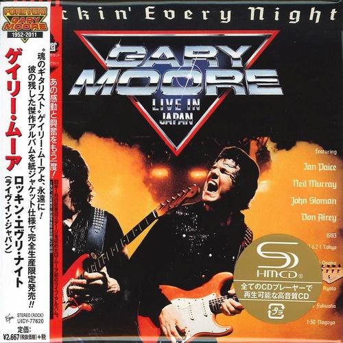 Gary Moore - Rockin' Every Night [Japan SHM-CD Remastered, Reissue] (2016) 320 kbps