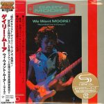 Gary Moore – We Want Moore! [Japan SHM-CD Remastered, Reissue] (2016) 320 kbps