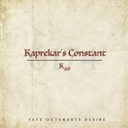 Kaprekar's Constant - Fate Outsmarts Desire (2017) 320 kbps