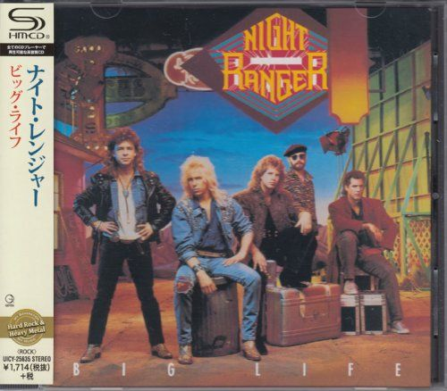 Night Ranger - Big Life (1987) [2016, Japanese SHM-CD] 320 kbps + Scans