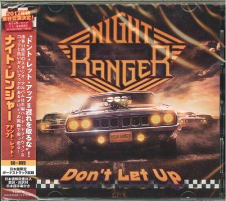 Night Ranger - Don't Let Up (Japanese Edition) (2017) 320 kbps